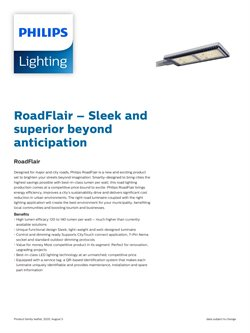 Philips Lighting catalogue ( More than a month )
