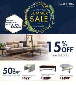Offers from Scanteak in the Singapore leaflet