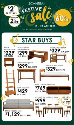 Home & Furniture offers in the Scanteak catalogue ( 2 days left )