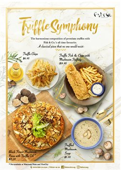 Offers from Fish & Co in the Singapore leaflet