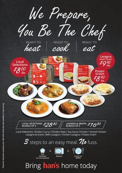 Restaurants offers in the Hans catalogue ( Expires tomorrow)