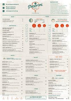 Peperoni Pizzeria catalogue ( Expired )