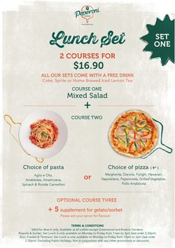 Peperoni Pizzeria offers in the Peperoni Pizzeria catalogue ( 3 days left)