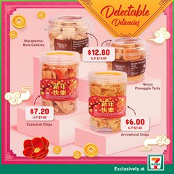 Offers from 7 Eleven in the Singapore leaflet