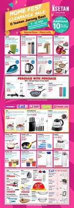 Department Stores offers in the Isetan catalogue in Singapore