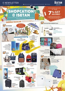 Department Stores offers in the Isetan catalogue ( 2 days ago )