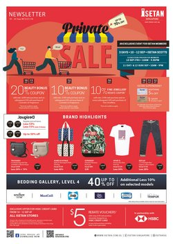 Department Stores offers in the Isetan catalogue ( 3 days left)