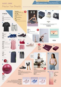 Department Stores offers in the Isetan catalogue ( Published today)