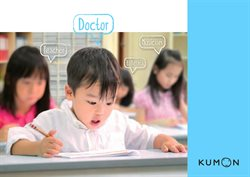 Offers from Kumon in the Singapore leaflet