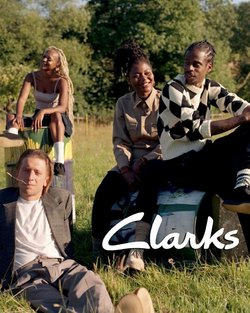 Clothes, shoes & accessories offers in the Clarks catalogue ( Expires Today)