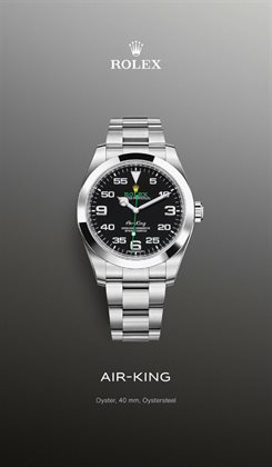 Rolex catalogue in Singapore ( More than a month )
