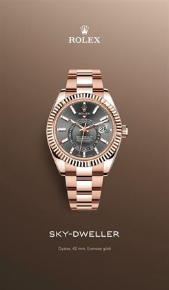 Jewellery & Watches offers in the Rolex catalogue in Singapore ( 6 days left )