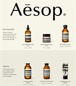 Aesop catalogue ( Expired )