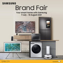 Electronics & Appliances offers in the Gain City catalogue ( 6 days left)