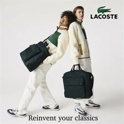 Lacoste catalogue in Singapore ( Expires tomorrow )