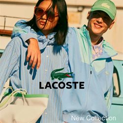 Lacoste catalogue in Singapore ( More than a month )