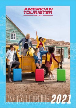 American Tourister offers in the American Tourister catalogue ( More than a month)