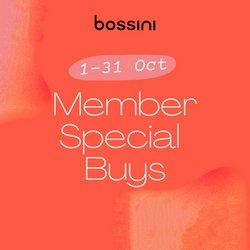 Bossini offers in the Bossini catalogue ( 4 days left)