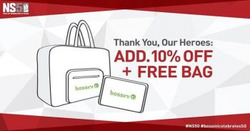 Offers from Bossini in the Singapore leaflet