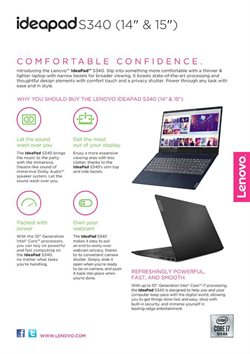 Offers from Lenovo in the Singapore leaflet