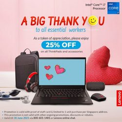Electronics & Appliances offers in the Lenovo catalogue ( 14 days left)