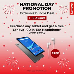 Electronics & Appliances offers in the Lenovo catalogue ( 5 days left)
