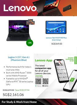 Lenovo offers in the Lenovo catalogue ( 2 days left)