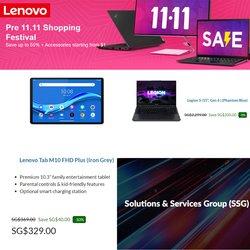Lenovo offers in the Lenovo catalogue ( 1 day ago)
