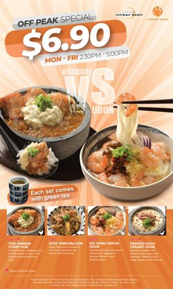 Ichiban Sushi offers in the Ichiban Sushi catalogue ( More than a month)