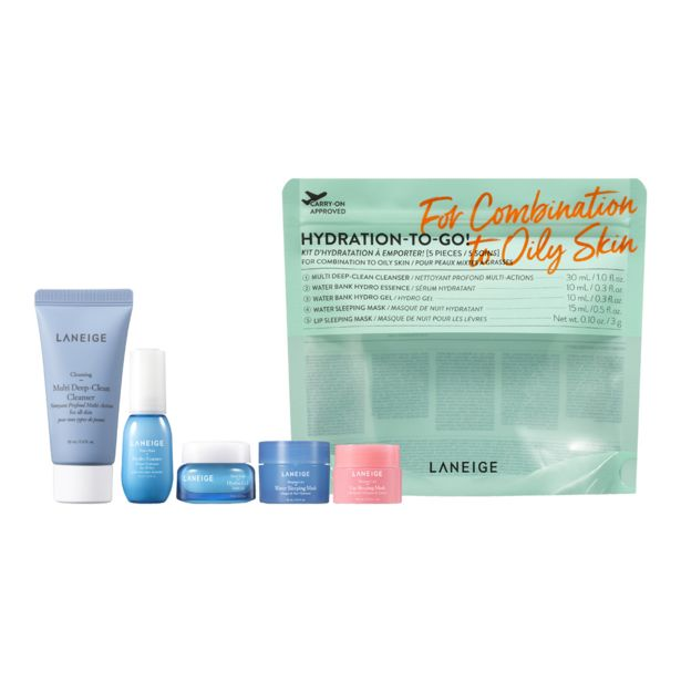 Hydration-To-Go! Combination to Oily Skin Skincare Set offers at S$ 31.45