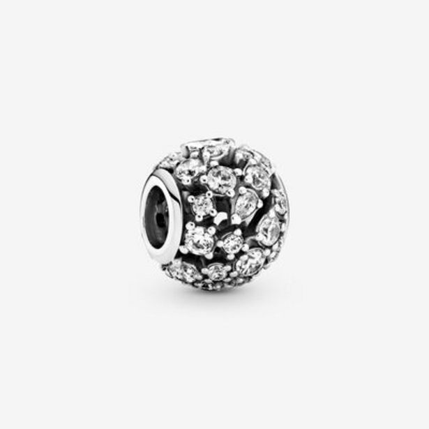 Sparkling Round Openwork Charm offers at S$ 129