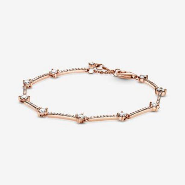 Sparkling Pavé Bars Bracelet offers at S$ 249