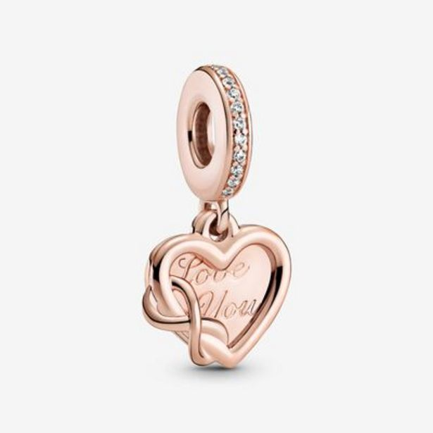 Love You Infinity Heart Dangle Charm offers at S$ 129