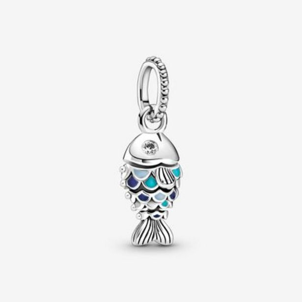 Blue Scaled Fish Dangle Charm offers at S$ 89