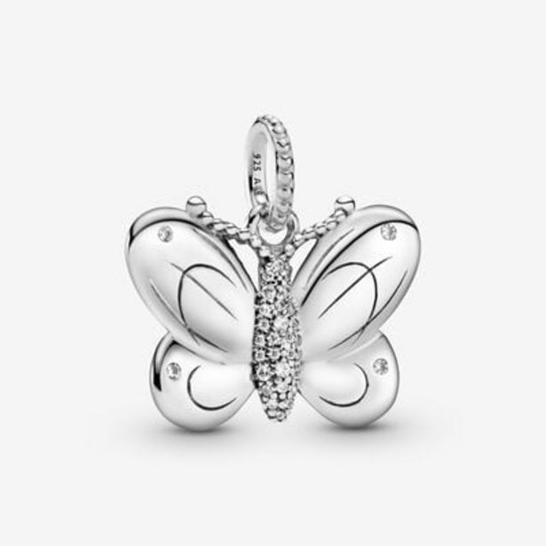 Pavé Butterfly Pendant offers at S$ 69