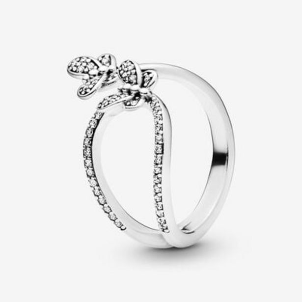 Sparkling Butterfly Open Ring offers at S$ 79