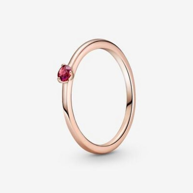 Red Solitaire Ring offers at S$ 69
