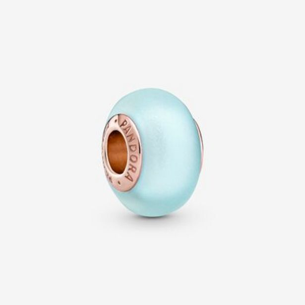 Matte Blue Murano Glass Charm offers at S$ 59