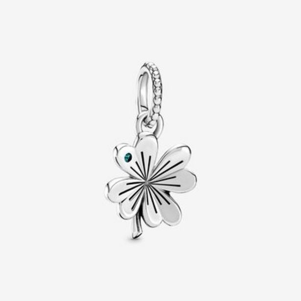 Lucky Four-Leaf Clover Dangle Charm offers at S$ 89