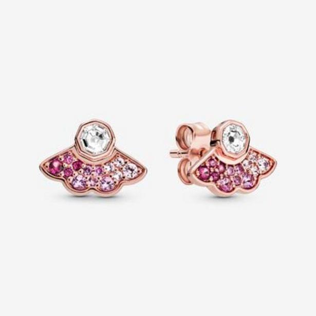 Pink Fan Stud Earrings offers at S$ 129