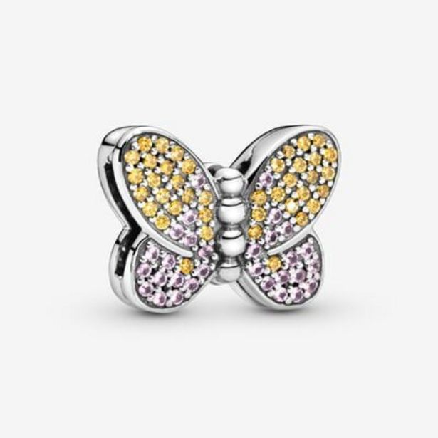 PavéButterfly Clip Charm offers at S$ 59