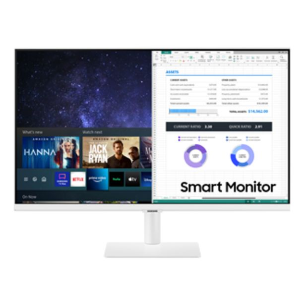 """27"""" Smart Monitor With Smart TV Apps offers at S$ 448"""