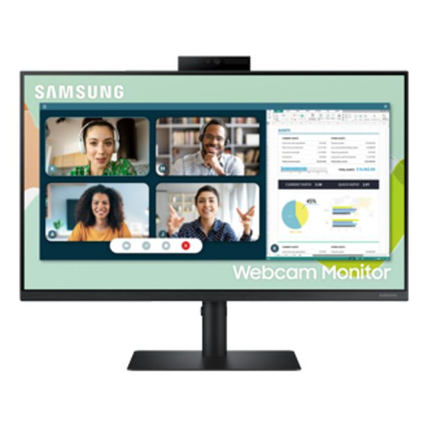 """24"""" Flat Monitor With Built-in Webcam offers at S$ 468"""