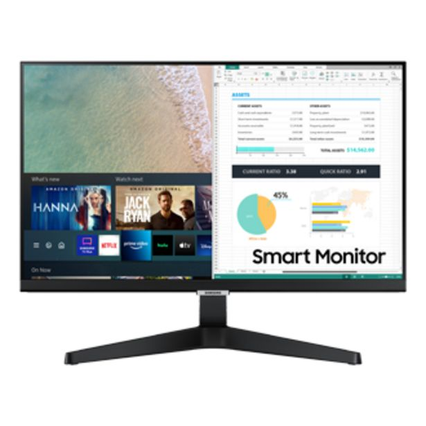 """24"""" Smart Monitor With Smart TV Apps offers at S$ 388"""