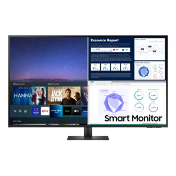 """43"""" Smart Monitor With Smart TV Apps and UHD resolution offers at S$ 998"""
