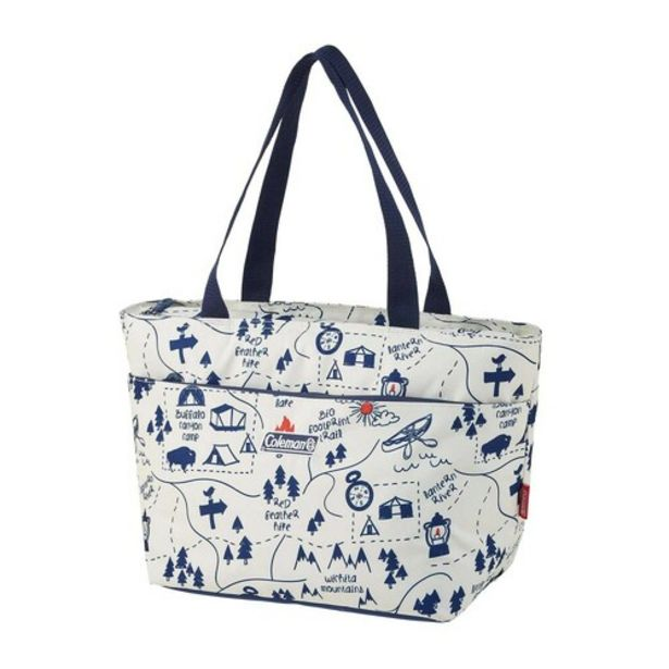 Soft Cooler Daily Tote (15L) (Camp Map) offers at S$ 40.66