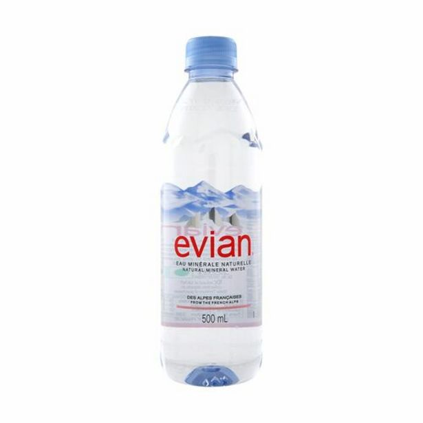 Evian Mineral Water (500ml) offers at S$ 1.9