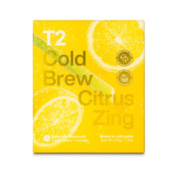 T2 CITRUS ZING COLD BREW 15PK BOX offers at S$ 18