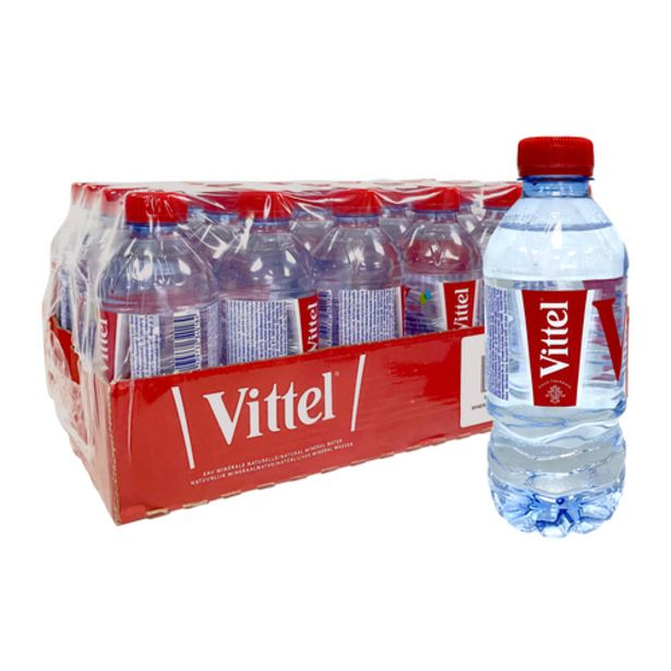 Vittel Natural Mineral Water - Case (24x330ML) offers at S$ 31.2