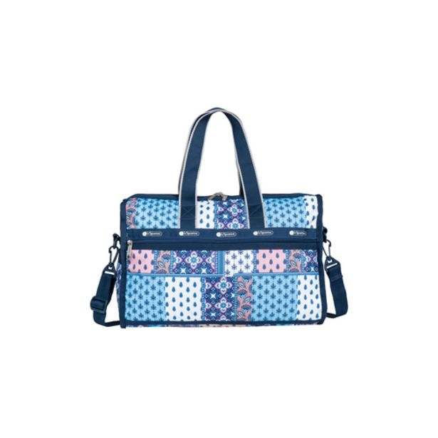 LeSportsac Deluxe Medium Weekender Azure Bliss offers at S$ 175